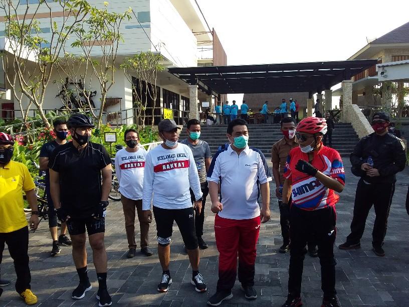 Gerindra DKI Bakal Undang PSI Dan Nasdem Bersepeda Untuk Ngobrol Soal Reklamasi Ancol