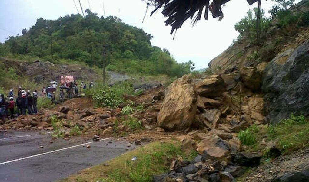 Jalan Penghubung Bandung-Cianjur Selatan Terputus