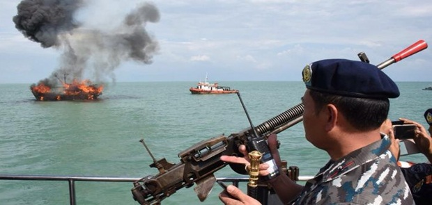 Susi:Tenggelamkan Kapal Perintah Tegas Presiden Joko Widodo
