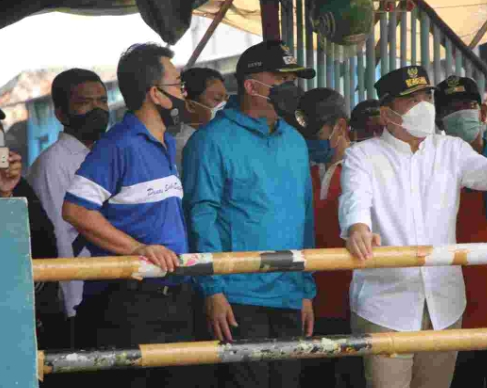 Wagub DKI Jakarta Janji Evaluasi Tuntas Penyebab Banjir Ciganjur