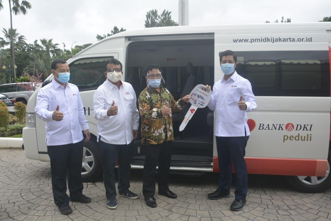 Bank DKI Berikan Mobil Unit Donor Darah Kepada PMI Provinsi DKI Jakarta