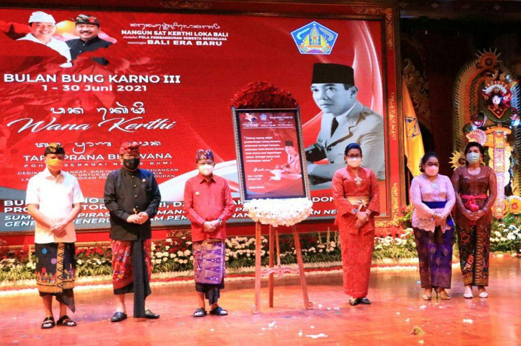 Gubernur Koster Buka Peringatan Bulan Bung Karno III Provinsi Bali