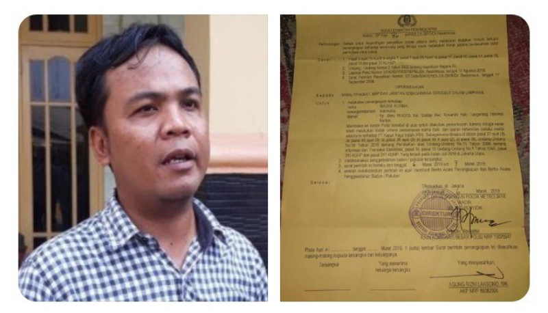 Dituding Cemarkan Nama Baik PT KNI, Nelayan Dadap Ditangkap