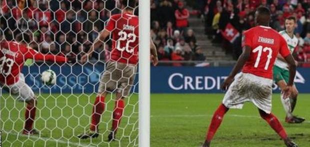 Menang Agregat, Swiss Segel Tiket Piala Dunia 2018