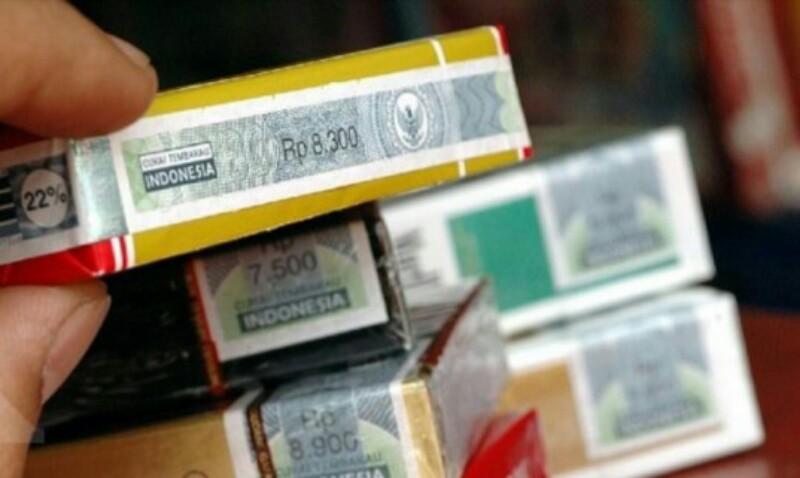 2019, Tarif Cukai Rokok Tidak Berubah