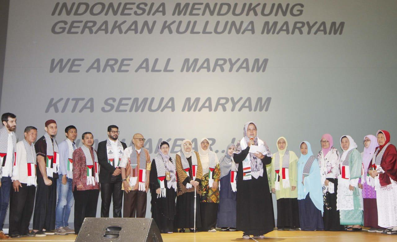 Seluruh Dunia Termasuk Indonesia Ikut Dukung Gerakan 'Kita Semua Maryam'