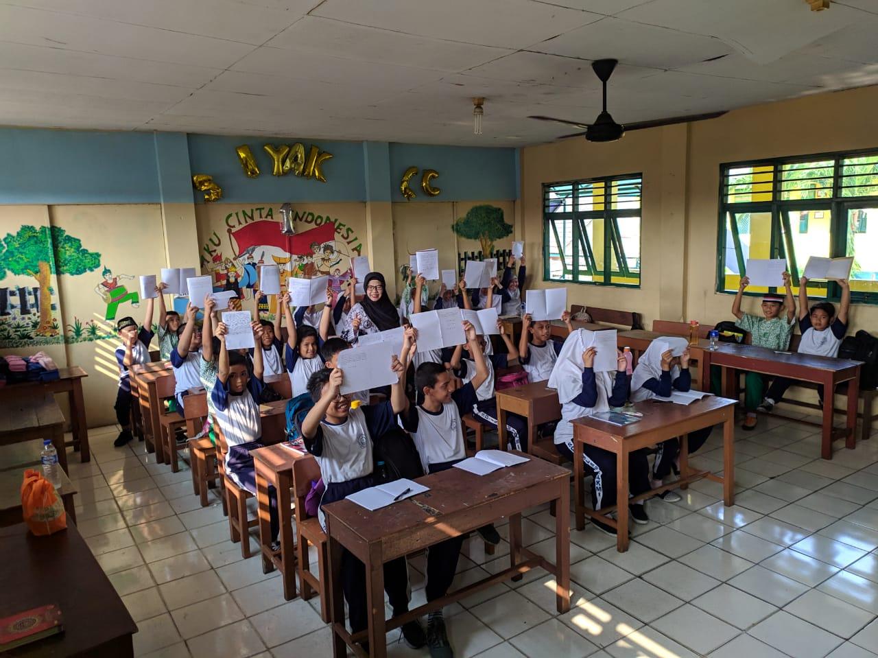 Pak Presiden, Siswa di Tangerang Inginkan Pendidikan dan Lingkungan yang Baik