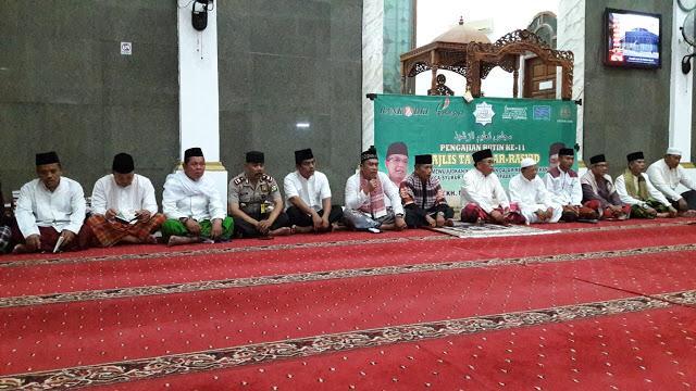 Majelis Ta'lim Ar-Rasyid Laksanakan Dzikir dan Doa Bersama Doakan Keamanan Daerah