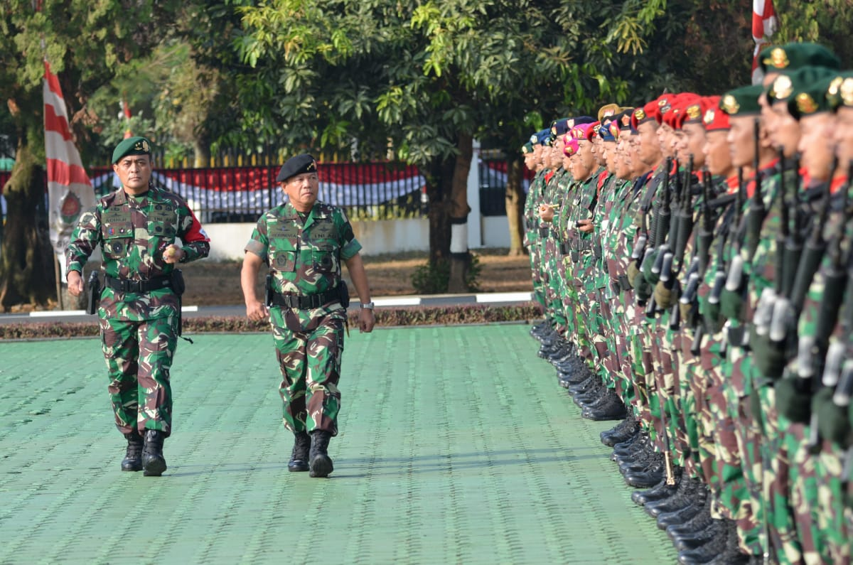 Latihan Gabungan Uji Kesiapsiagaan TNI Melaksanakan Kampanye Militer