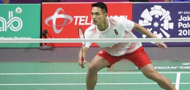 2 Tunggal Putra Indonesia Lolos ke Babak Perempat Final Bulutangkis Asian Games XVIII