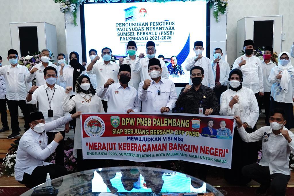 Pengukuhan DPW PNSB Kota Palembang