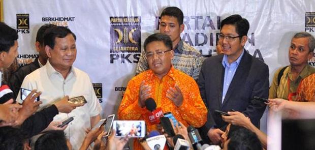Pilkada Serentak 2018, PKS, PAN Dan Gerindra Sepakat Koalisi di 5 Provinsi