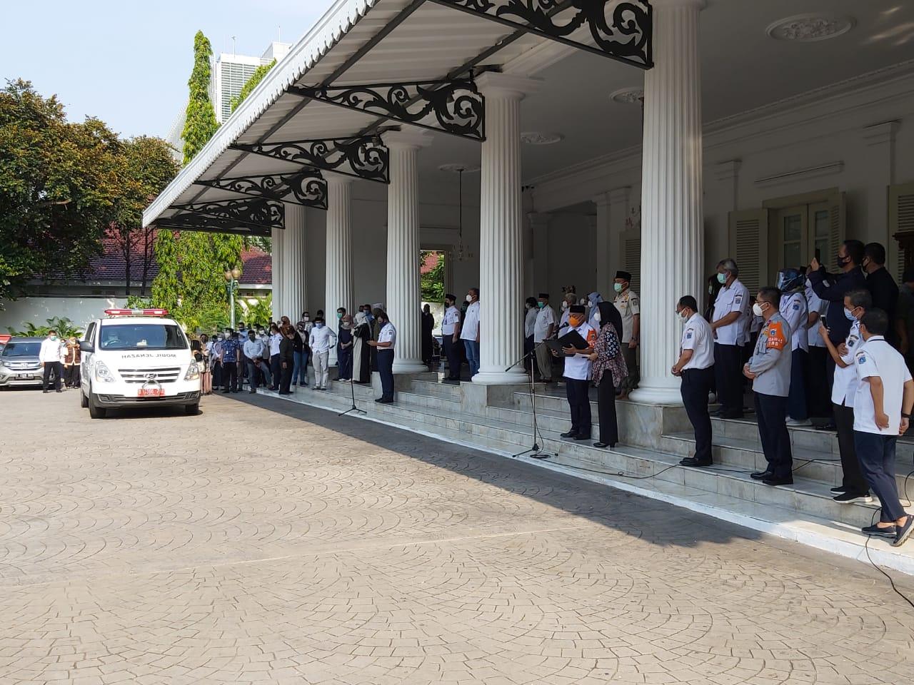 Dua Pejabat Eselon Terpapar Covid-19, Balai Kota Jakarta Ditutup Selama 3 Hari Untuk Disinfektasi