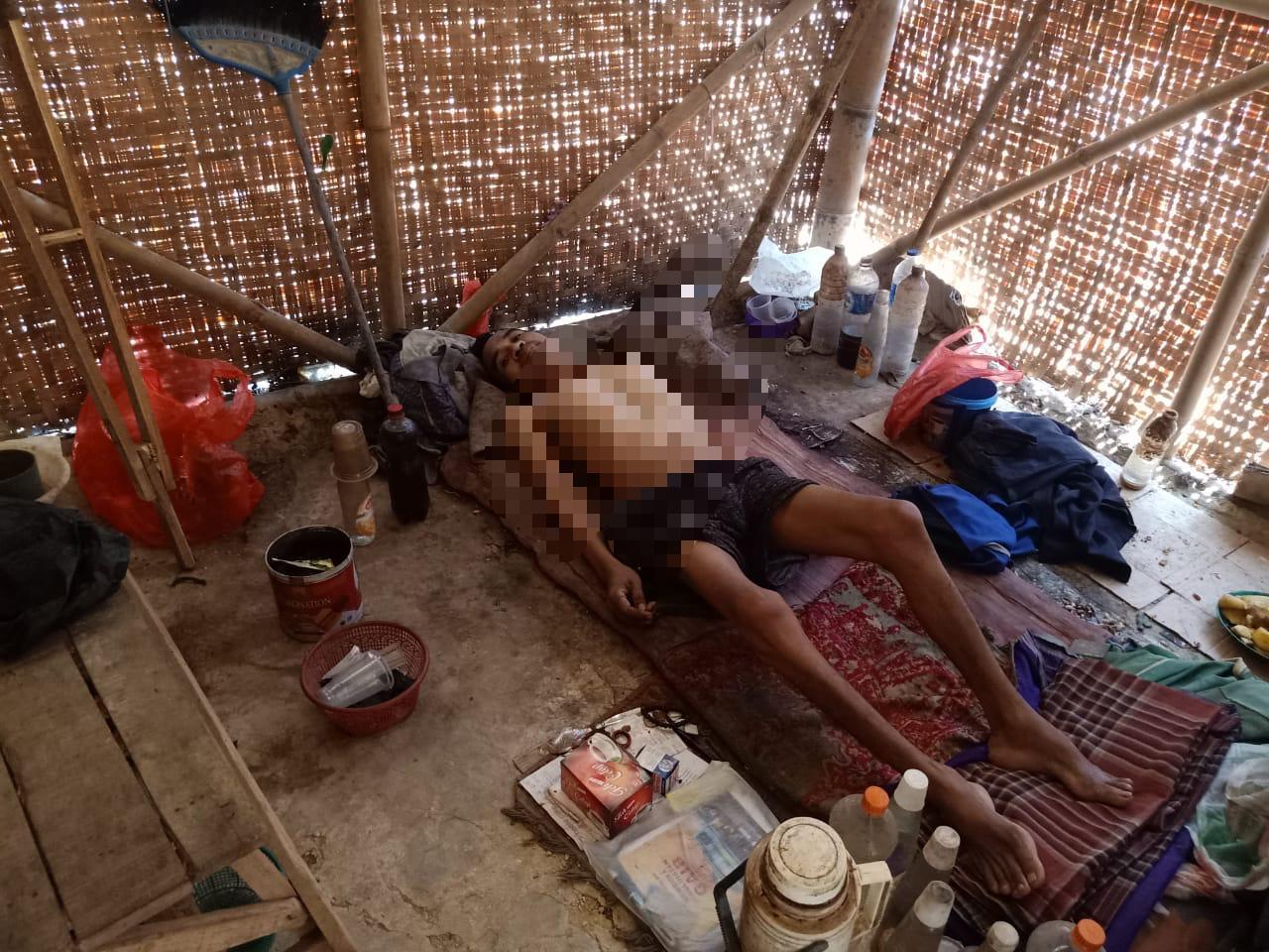 Lumpuh Menahun, Warga Cisoka Ini Belum Diperhatikan Pemkab Tangerang.