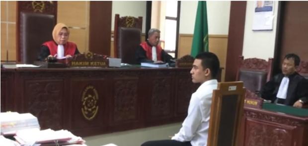 Axel Matthew Thomas Divonis 4 Bulan Penjara Karena Memiliki Narkorba
