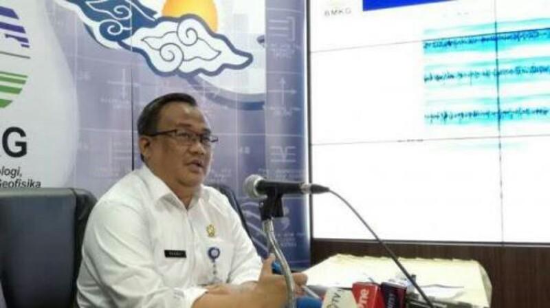 BMKG Pastikan Tsunami di Selat Sunda Akibat Longsoran Gunung Anak Krakatau