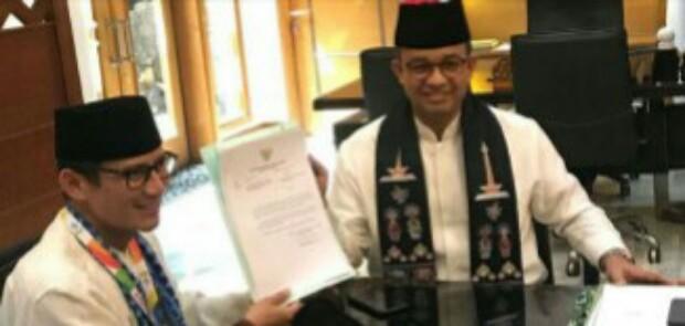 Sandiaga Uno Resmi Mundur dari Jabatan Wagub DKI