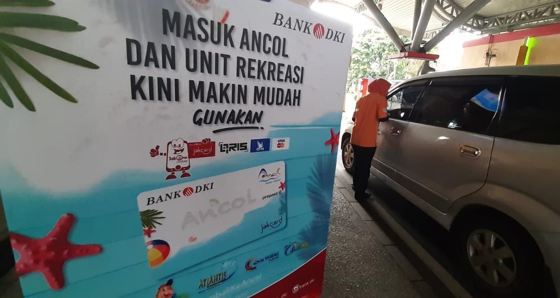 Ancol Gandeng Bank DKI Terapkan Transaksi Non Tunai