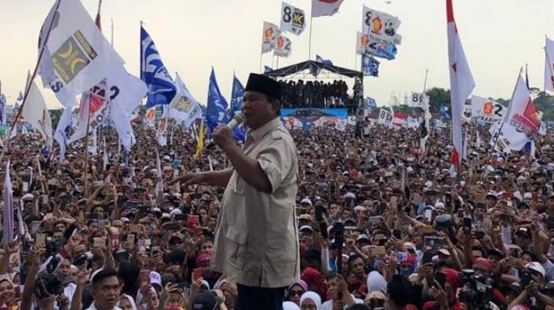 Jutaan Pendukung Diperkirakan Banjiri Kampanye Akbar Prabowo di GBK