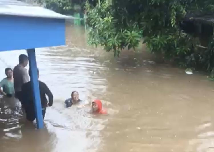 Selalu Banjir, Kajian Tanggul di Kampung Bulak Pondok Aren Dipertanyakan