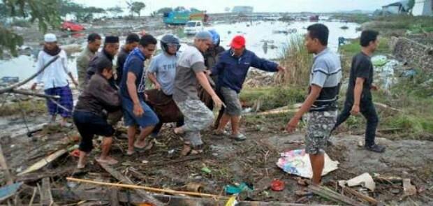 Korban Gempa dan Tsunami Sulteng Bertambah Jadi 832 Oramg