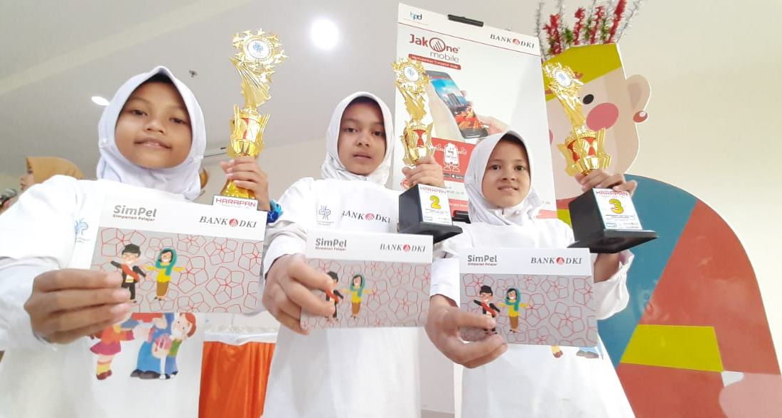 Bank DKI Berikan Pendidikan Tabungan Simpanan Pelajar