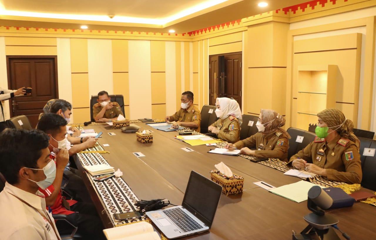 Pemprov Lampung Gelar Rapat Pembahasan Penanganan Desa Blank Spot Internet di Provinsi Lampung