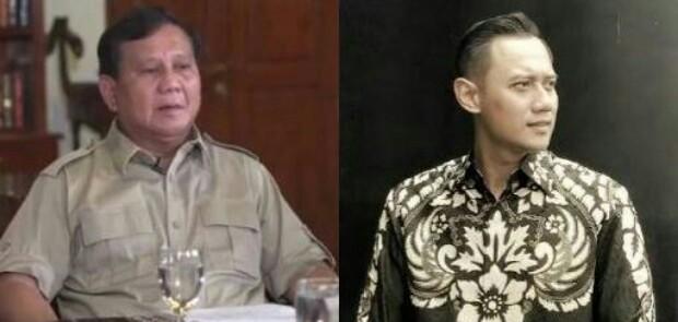 Gerindra dan Demokrat Jajaki Duet Prabowo-AHY di 2019