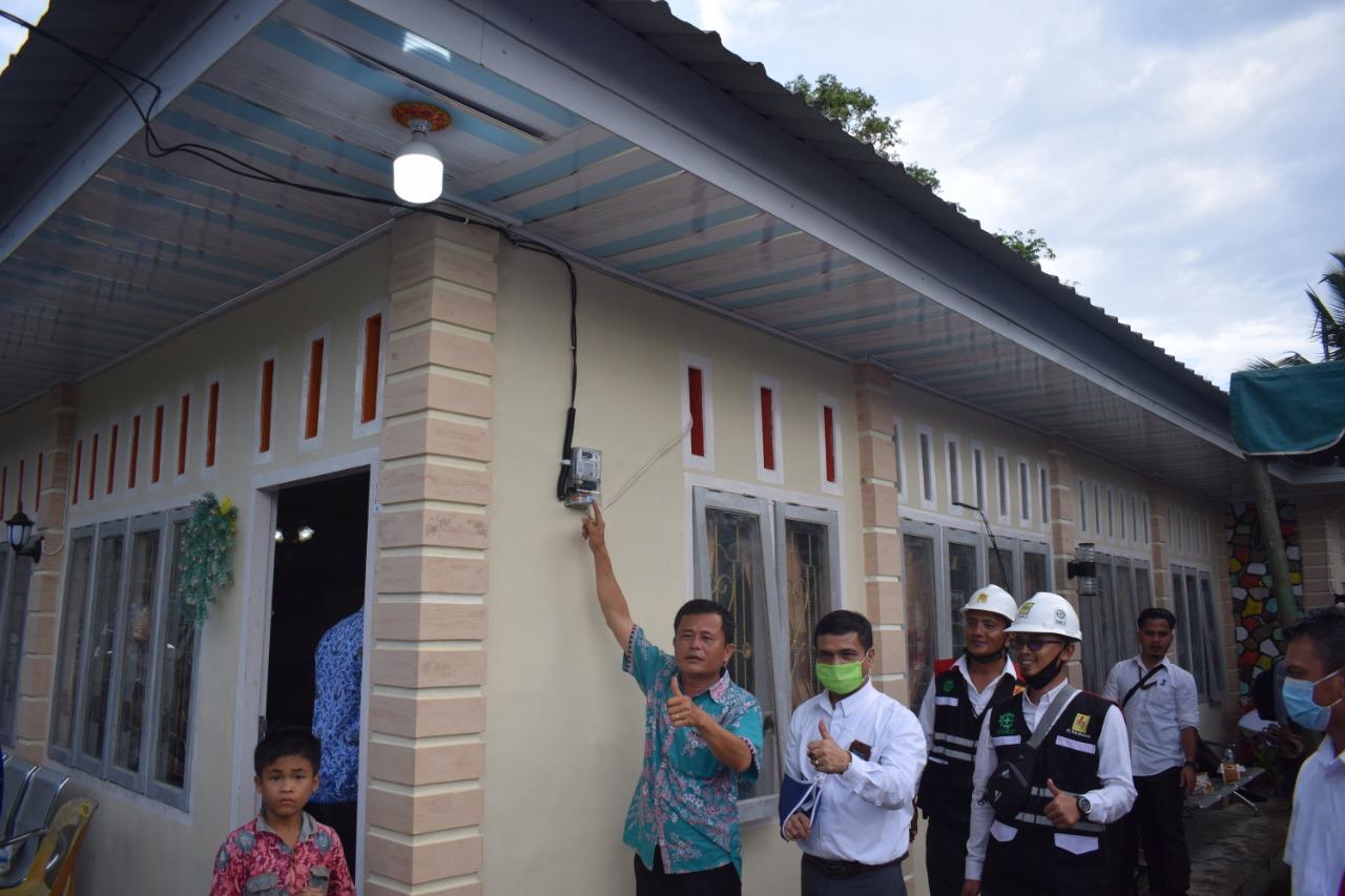 HUT RI Ke-75, Tujuh Desa Di Nias Semakin Benderang