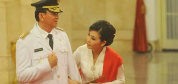 Ahok Gugat Cerai Veronica Tan ke PN Jakut