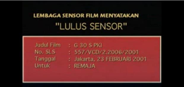 Mendikbud Larang Siswa Nonton Bareng Film G30S PKI