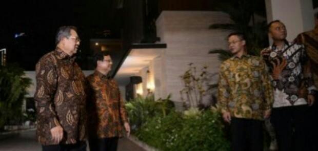 Bertemu Prabowo, SBY Tetap Buka Peluang Koalisi dengan Poros Jokowi