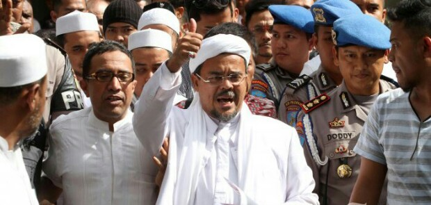 Habib Rizieq Minta Indonesia Beri Pelajaran kepada AS
