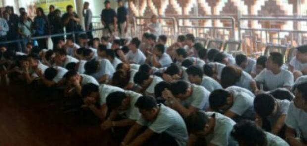 Lakukan Penipuan Online, 105 WN China Dideportasi