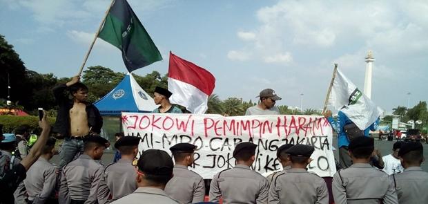 Refleksi 20 Tahun Reformasi Ricuh, Mahasiswa Mengadu ke Komnas HAM