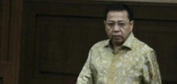 Setya Novanto Dituntut 16 Tahun Penjara