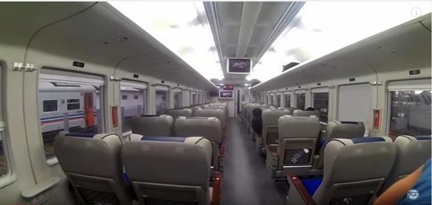 April 2017, INKA Uji Coba Kereta Bandara Soekarno