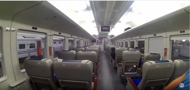 April 2017, INKA Uji Coba Kereta Bandara Soekarno–Hatta