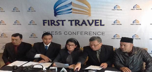 Dituduh Telantarkan Jamaah, First Travel : Kita Laporkan ke Polisi Karena Dirugikan Secara Immateriil