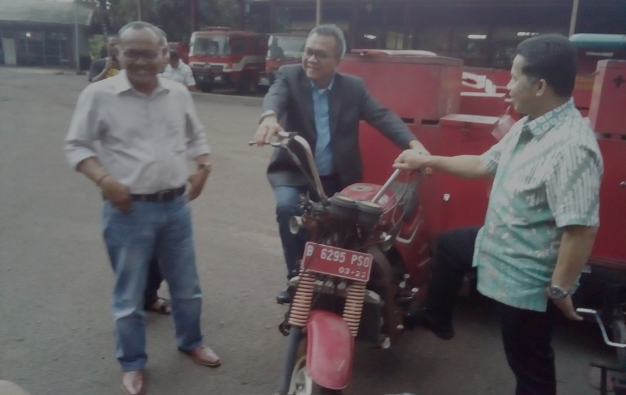 Komisi A sidak ke UPT Bengkel Induk Damkar Jakarta